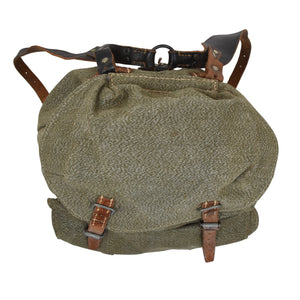 1955 Swiss Military Rucksack - Salt & Pepper