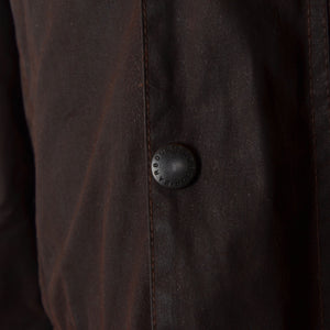 Barbour Beaufort Waxed Jacket Size C38/97cm - Brown