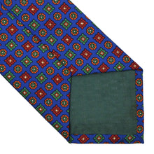 Load image into Gallery viewer, Andrew's Ties Neat Silk Tie - Royal Blue