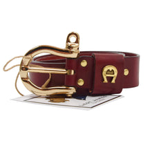 Load image into Gallery viewer, Etienne Aigner Leather Belt Size 90/36 - Red