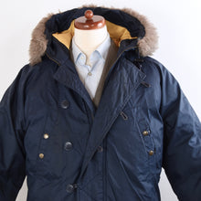 Load image into Gallery viewer, Vintage Chevignon Togs Unlimited Down Puffer Jacket Size L - Navy