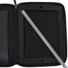 Load image into Gallery viewer, Burberry Coated Canvas & Leather iPad Case/Folio - Grey Novacheck