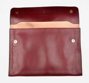 Swaine Adeney Brigg The Eton Document Case - Burgundy
