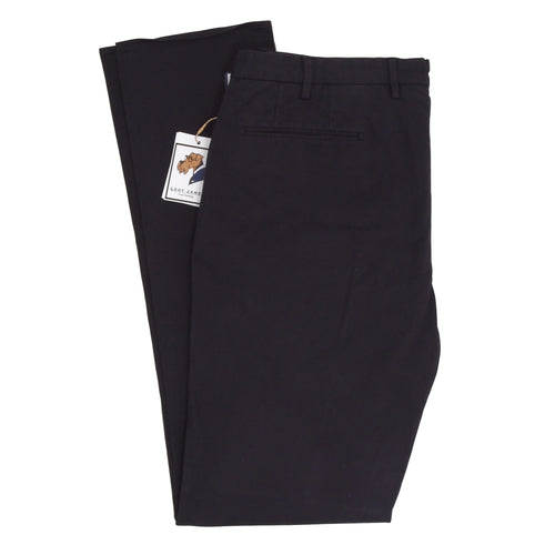 NWT Incotex Comfort Chino Pants Size 54 - Navy Blue
