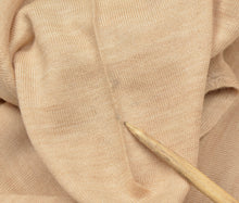 Load image into Gallery viewer, Coxmoore of England V-Neck Wool Sweater XL - Natural Tan
