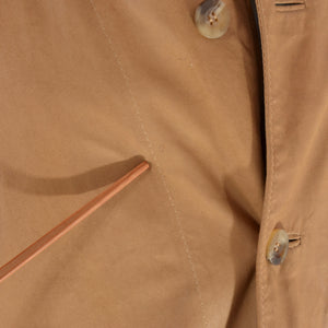 Marchiol Unlined Leather Jacket Size 54 - Tan