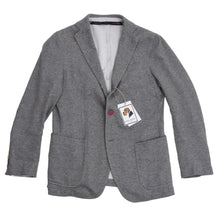 Load image into Gallery viewer, Tombolini Flying Unstructured Jersey Jacket Size 46 - Grey