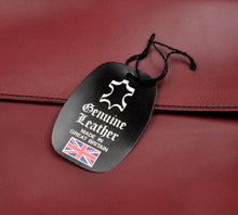 Load image into Gallery viewer, Swaine Adeney Brigg The Eton Document Case - Burgundy