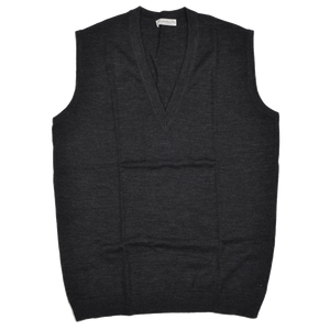 Sweater Vest by P.C. Leschka & Co. Wien Size 54  - Grey