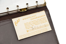 Load image into Gallery viewer, Montblanc Vintage Leather Address Book 1962-63 - Brown