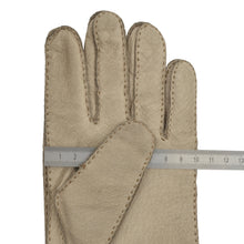 Load image into Gallery viewer, Pigskin Leather Gloves - Cream