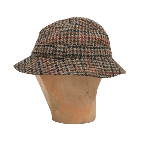 Lock & Co. Tweed Bucket Hat Size 58/7 1/8