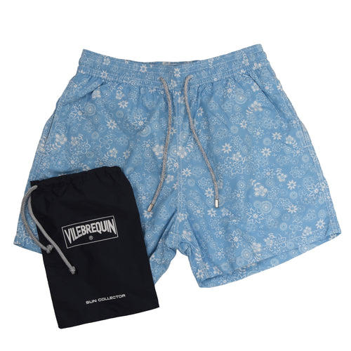 Vilebrequin Swim Trunks Size XL - Blue Floral