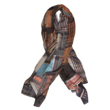 Load image into Gallery viewer, Vivienne Westwood 170cm Silk Scarf - Library Print