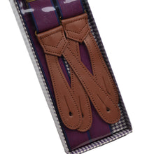 Load image into Gallery viewer, Vintage Albert Thurston Braces/Suspenders Size XL - Red/Blue