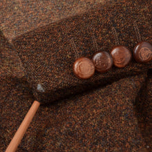 Load image into Gallery viewer, Barutti Harris Tweed Jacket Size 52 - Rust