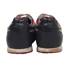 Load image into Gallery viewer, Hugo Boss Leather Sneakers Size 43 - White, Red, Blue
