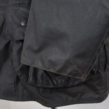 Load image into Gallery viewer, Barbour Beaufort Waxed Jacket Size C38/97cm - Black