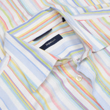 Load image into Gallery viewer, Zegna Sport Shirt Size L  - Summer Stripes