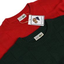 Load image into Gallery viewer, 2x Vintage Lacoste Sweaters Size 6 - Red & Green
