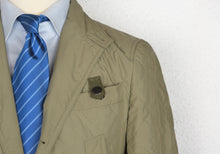 Load image into Gallery viewer, Fay Quilted Jacket-Blazer Size S - Olive/Beige