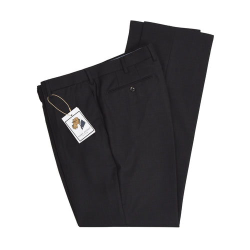 Incotex Super 100s High Comfort Wool Pants - Charcoal