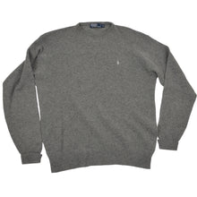 Load image into Gallery viewer, Polo Ralph Lauren Lambswool Sweater Size XXL  - Grey