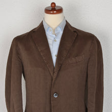 Load image into Gallery viewer, Boglioli COAT Linen/Cotton Jacket Size 52 - Brown