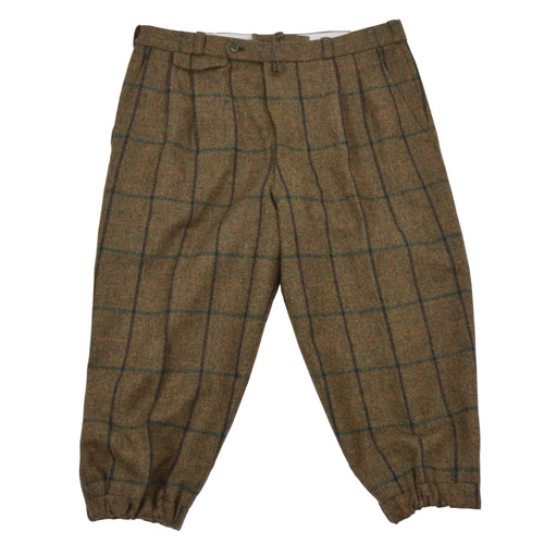 Handmade Tweed Knickerbockers/Breeks - Green Windowpane