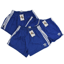 Load image into Gallery viewer, Vintage Adidas Cotton Sprinter Shorts Size 8 - Blue