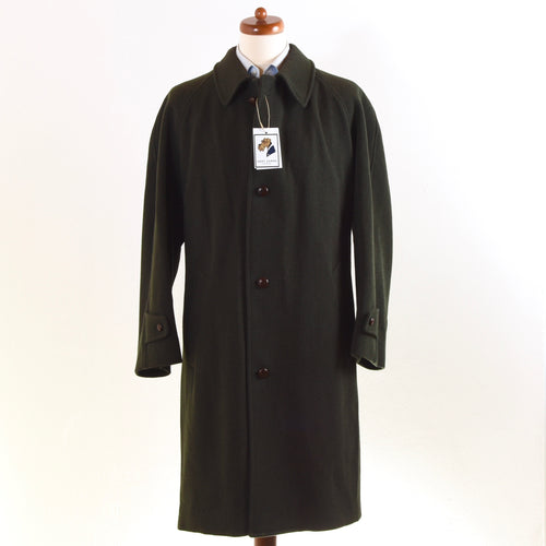Corneliani Wool Blend Coat Size 54 - Loden Green