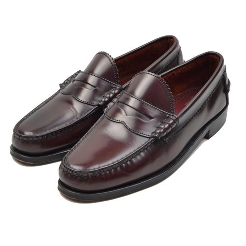 Allen Edmonds Kenwood Loafers Size 8.5 E - Burgundy