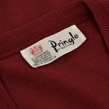 Load image into Gallery viewer, Pringle of Scotland Sweater Vest Size S  - Bordeaux