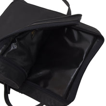 Load image into Gallery viewer, Vimar Paris Lightweight Leather Bag - Black