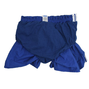 Vintage Adidas Cotton Sprinter Shorts Size 8 - Blue