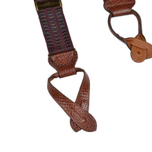 Load image into Gallery viewer, Classic Trafalgar Braces/Suspenders - Burgundy