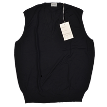 Load image into Gallery viewer, Knize Wien Sweater Vest Size 46/XL  - Black