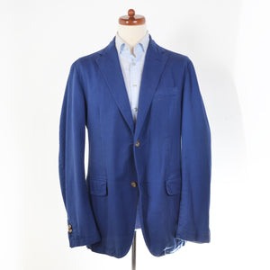 Henry Cotton's Unstructured Jacket Size 54 - Blue