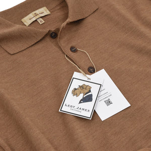 Ermenegildo Zegna Polo Sweater Size L/52 - Brown