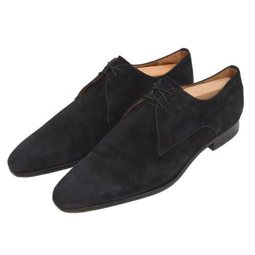 Magnanni Suede Shoes Size 42 - Navy Blue
