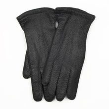 Load image into Gallery viewer, Wool-Lined Peccary Gloves Size 8 1/4 - Anthracite