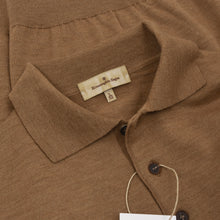 Load image into Gallery viewer, Ermenegildo Zegna Polo Sweater Size L/52 - Brown