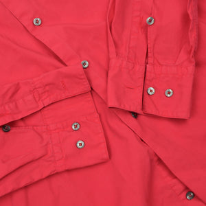 Vintage Versace Sport Embroidered Shirt - Red