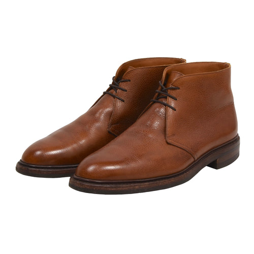 Crockett & Jones Chepstow Boots Size 8E - Cognac/Tan