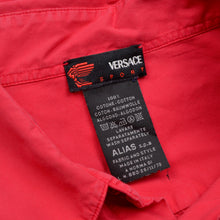 Load image into Gallery viewer, Vintage Versace Sport Embroidered Shirt - Red