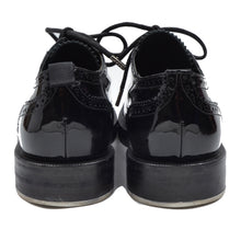Load image into Gallery viewer, Kris van Assche Patent Leather Shoes Brogues Plus Size 40 - Black