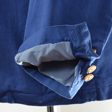 Load image into Gallery viewer, Henry Cotton's Unstructured Jacket Size 54 - Blue
