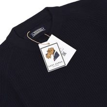 Load image into Gallery viewer, Ermenegildo Zegna Yachting Thick Wool Sweater Size XL - Navy Blue