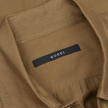 Load image into Gallery viewer, Gucci Lightweight Shirt Size 39/15.5  - Tan/Brown