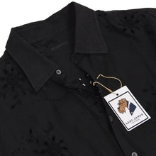 Load image into Gallery viewer, Ermanno Scervino Linen Shirt Size 56 - Black